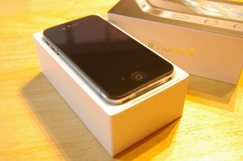 8月6日 iPhone4届いた