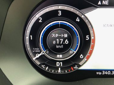 【実燃費】ティグアン TDI Rライン の実燃費を大公開!